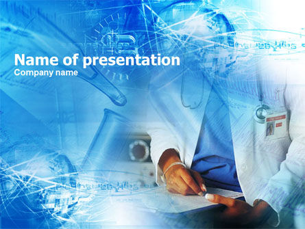 Medical: Therapist PowerPoint Template #00482