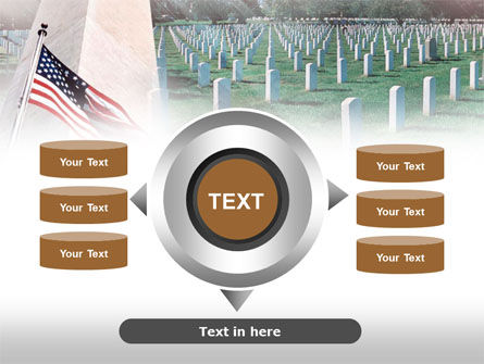 Military Cemetery PowerPoint Template Slide 12