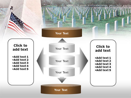 Military Cemetery PowerPoint Template Slide 13