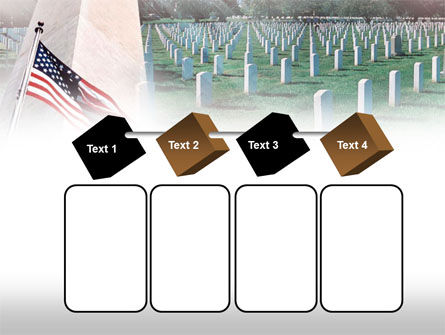 Military Cemetery PowerPoint Template Slide 18