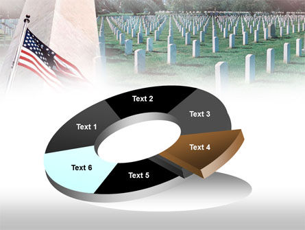 Military Cemetery PowerPoint Template Slide 19