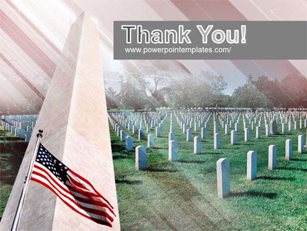 Military Cemetery PowerPoint Template Slide 20