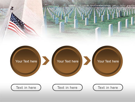 Military Cemetery PowerPoint Template Slide 5