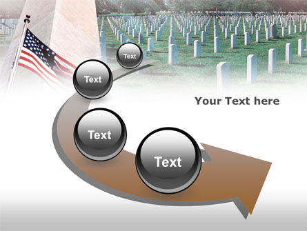 Military Cemetery PowerPoint Template Slide 6