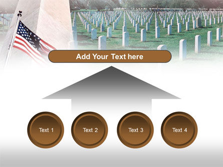 Military Cemetery PowerPoint Template Slide 8