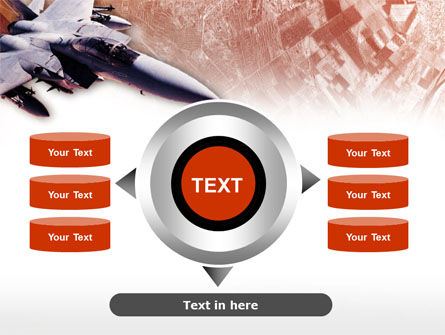 Tactical Fighter PowerPoint Template Slide 12