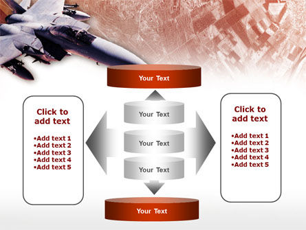 Tactical Fighter PowerPoint Template Slide 13