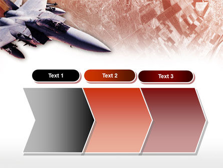 Tactical Fighter PowerPoint Template Slide 16