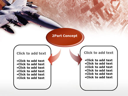 Tactical Fighter PowerPoint Template, Slide 4, 00484, Military — PoweredTemplate.com