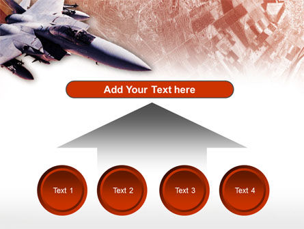 Tactical Fighter PowerPoint Template Slide 8