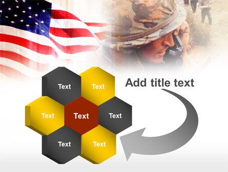 American Artillery PowerPoint Template Slide 11