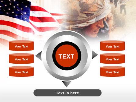 American Artillery PowerPoint Template Slide 12