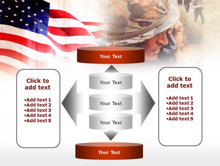American Artillery PowerPoint Template Slide 13