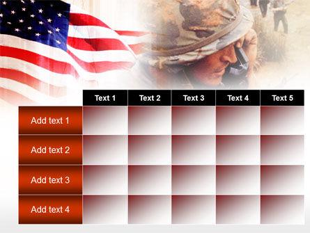 American Artillery PowerPoint Template Slide 15