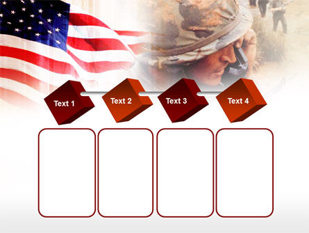 American Artillery PowerPoint Template Slide 18