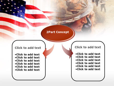 American Artillery PowerPoint Template, Slide 4, 00485, Military — PoweredTemplate.com