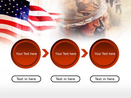 American Artillery PowerPoint Template Slide 5