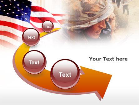 American Artillery PowerPoint Template Slide 6