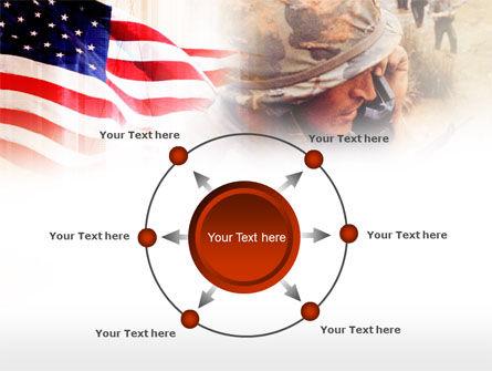 American Artillery PowerPoint Template Slide 7