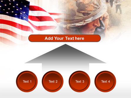 American Artillery PowerPoint Template Slide 8
