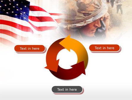 American Artillery PowerPoint Template Slide 9