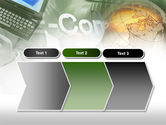 Electronic Commerce PowerPoint Template#16
