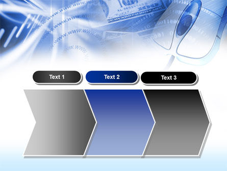 E-Commerce In Blue Colors PowerPoint Template Slide 16