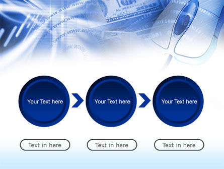 E-Commerce In Blue Colors PowerPoint Template Slide 5