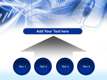 E-Commerce In Blue Colors PowerPoint Template Slide 8