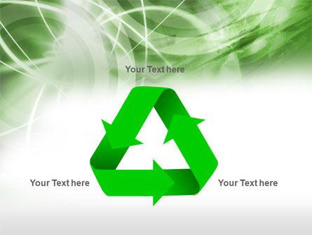 Green Lights Abstract PowerPoint Template Slide 10