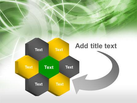 Green Lights Abstract PowerPoint Template Slide 11
