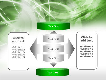 Green Lights Abstract PowerPoint Template Slide 13