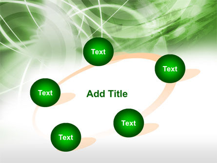 Green Lights Abstract PowerPoint Template Slide 14