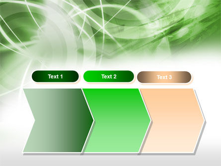 Green Lights Abstract PowerPoint Template Slide 16
