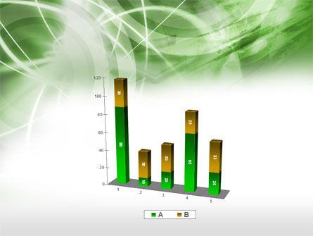 Green Lights Abstract PowerPoint Template Slide 17