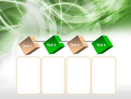 Green Lights Abstract PowerPoint Template Slide 18