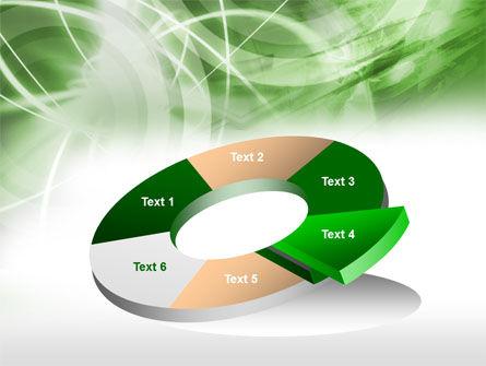 Green Lights Abstract PowerPoint Template Slide 19