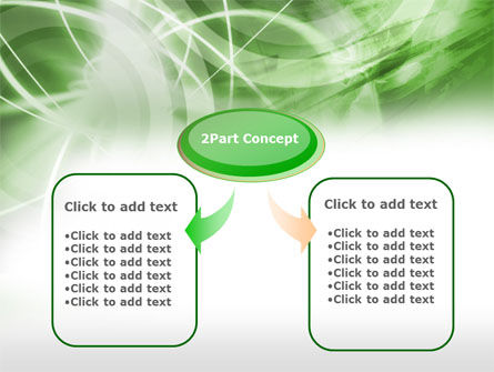 Green Lights Abstract PowerPoint Template Slide 4