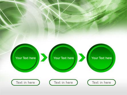 Green Lights Abstract PowerPoint Template Slide 5