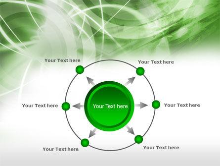 Green Lights Abstract PowerPoint Template Slide 7