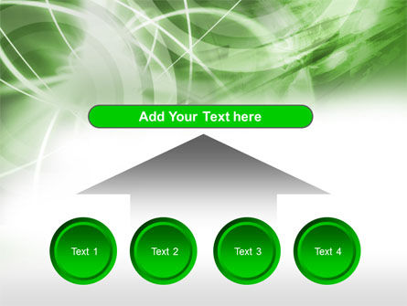 Green Lights Abstract PowerPoint Template Slide 8