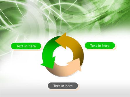 Green Lights Abstract PowerPoint Template Slide 9
