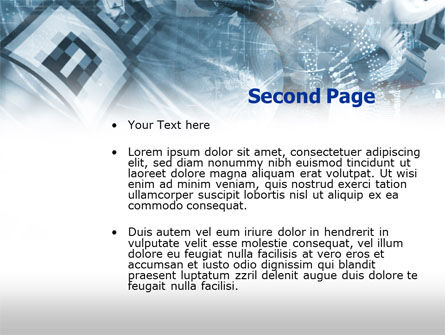 Security Software PowerPoint Template, Slide 2, 00494, Utilities/Industrial — PoweredTemplate.com