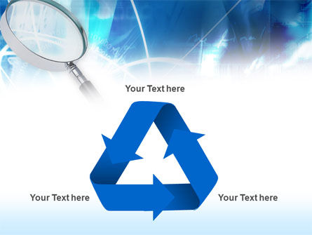 Magnifying Glass PowerPoint Template Slide 10