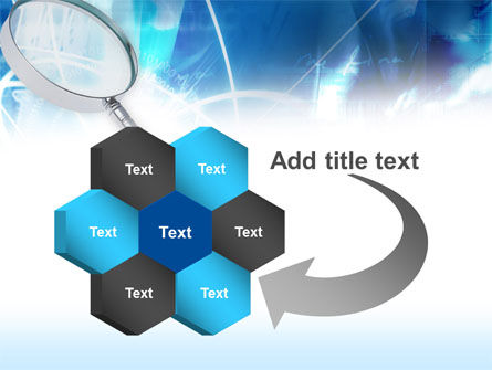 Magnifying Glass PowerPoint Template Slide 11