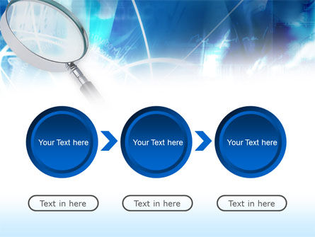 Magnifying Glass PowerPoint Template Slide 5