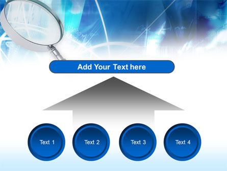 Magnifying Glass PowerPoint Template Slide 8