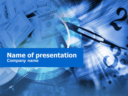 Business Profits PowerPoint Template, 00499, Financial/Accounting — PoweredTemplate.com