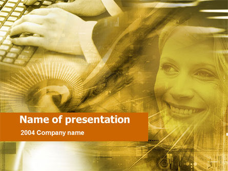 Business Communication Software PowerPoint Template