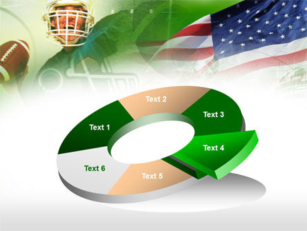 American National Sports Powerpoint Template Backgrounds 00505